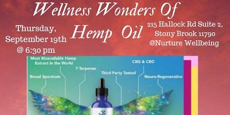 Wellness Wonders Of Hemp Oil tickets