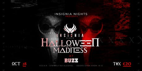 Insignia nights 4th year Halloween madness tickets