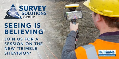Survey Solutions Group: Trimble SiteVision Session - Aberdeen