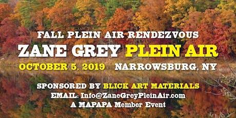 Fall Plein Air Rendezvous tickets