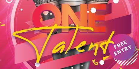 One Talent: Open Mic Night! tickets