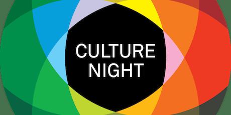 Culture Night & Book Launch @ Irish Red Cross HQ tickets