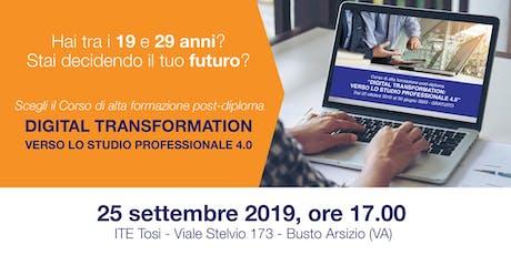 Invito presentazione Corso Alta Formazione 2019-2020 biglietti