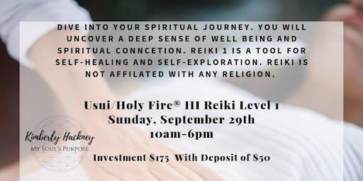 Holy Fire® III Reiki Level 1