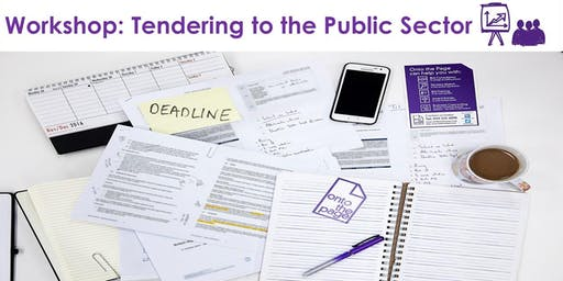 Workshop: Tendering to the Public Sector (Feb 2020)
