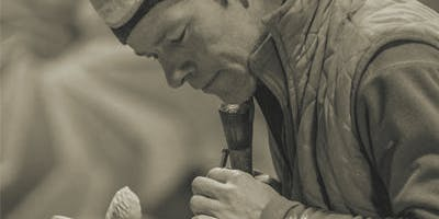 Conversations in Sculpture stone carving workshop with Nicolas Moreton