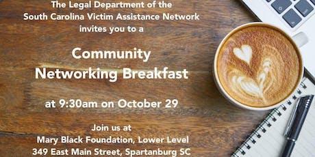 SCVAN Community Networking Breakfast tickets