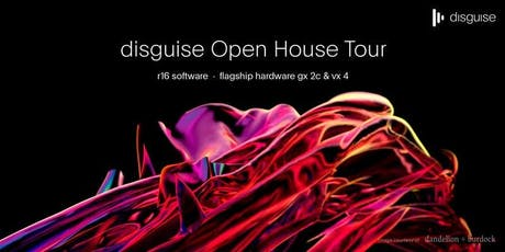 disguise Open House Tour - Amsterdam tickets