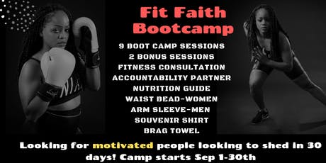 Fit Faith Bootcamp tickets