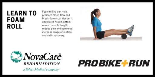 Foam Rolling Techniques for Runners and Riders with NovaCare and Pro Bike + Run