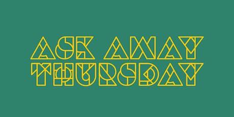 AskAway Thursday tickets