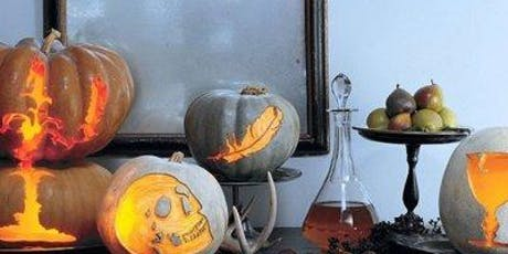 Pumpkin Carving with English Cheese and Cider Tasting for Grown Ups! tickets
