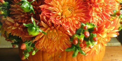 KIDS CLUB: Pumpkin Centerpiece Class (Ages 5-12)