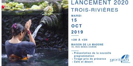 Lancement - Trois-rivières billets