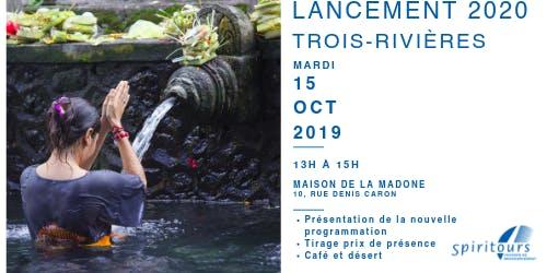 Lancement - Trois-rivières