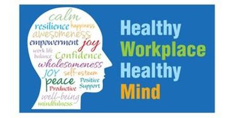 Let's Talk Wellness at Work- 25th September 2019 tickets