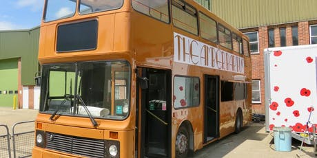 Hop aboard The Amber Bar Bus over UNITY Arts Festival weekend tickets
