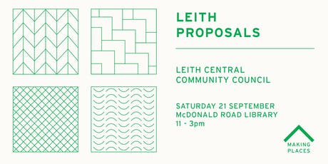 Leith Proposals: Leith Central Community Council tickets