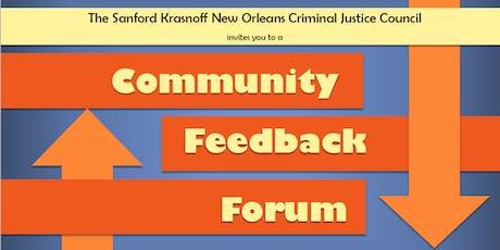 SKNOCJC Community  Feedback Forum tickets