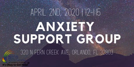 Anxiety Support Group tickets