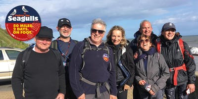 Follow the Seagulls Charity Trek - Cowes, Isle of Wight 2020