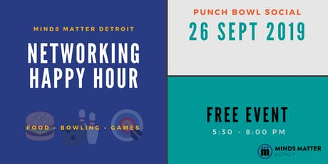 Networking Happy Hour with Minds Matter Detroit tickets