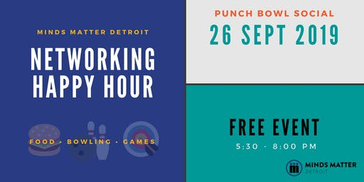 Networking Happy Hour with Minds Matter Detroit