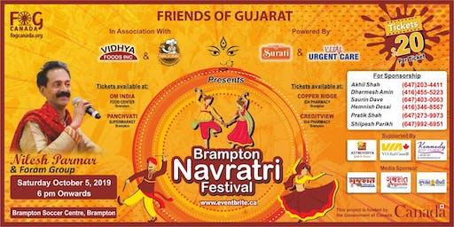 Friends of Gujarat - Brampton Navratri Festival 2019