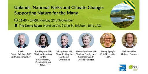 Uplands, national parks and climate change