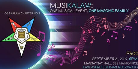 Musikalaw: One Musical Event, One Masonic Family tickets