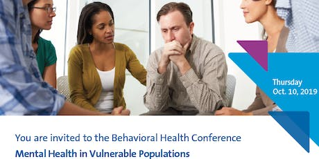 2019 Behavioral Health Conference tickets