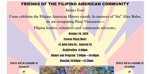 Filipino American History Month - Honoring Pinay Visionaries
