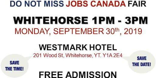 Whitehorse Job Fair – September 30th, 2019