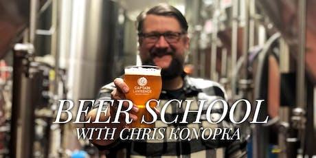Beer School: The History Behind Your Beer tickets