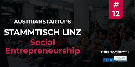 AustrianStartups Stammtisch Linz #12 - Social Entrepreneurship Tickets