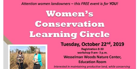Women's Conservation Learning Circle tickets