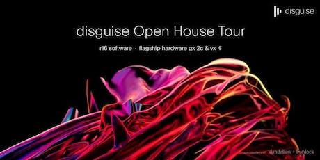 disguise Open House Tour - Barcelona entradas