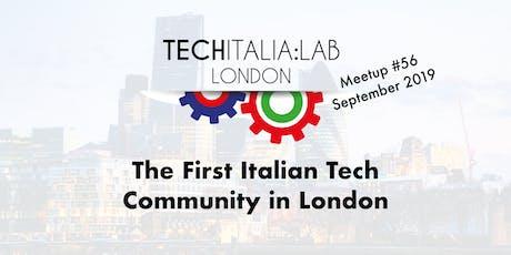TechItalia London Meetup #56 September tickets