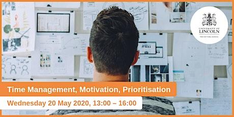 Time Management, Motivation, Prioritisation   tickets