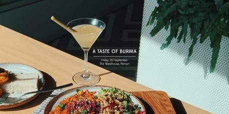 A Taste of Burma tickets