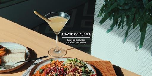 A Taste of Burma