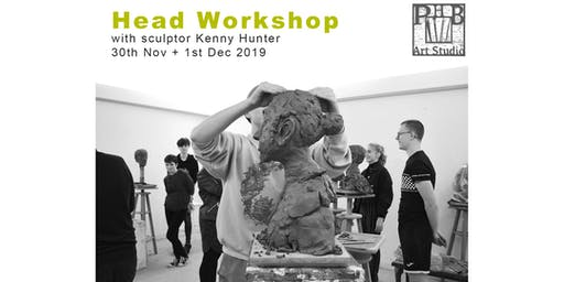 HEAD WORKSHOP with sculptor Kenny Hunter