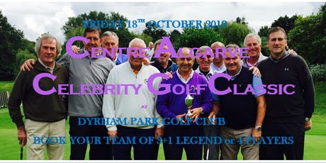 CENTRE ALGARVE CELEBRITY CHARITY GOLF CLASSIC tickets