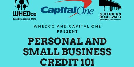 Personal and Small Business Credit 101 tickets