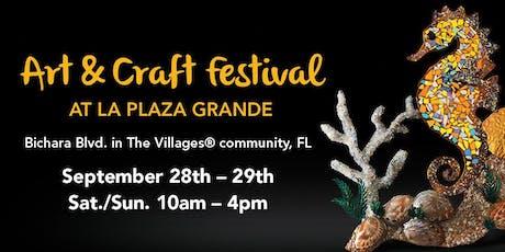 The Art & Craft Festival at La Plaza Grande tickets