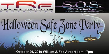 TRF & SOS Foundations present: Halloween Safe Zone Party tickets
