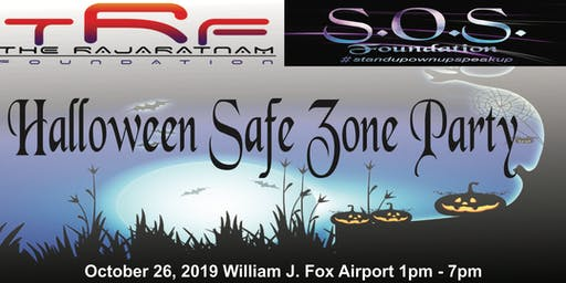 TRF & SOS Foundations present: Halloween Safe Zone Party