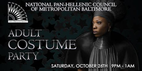 NPHCMB Adult Costume Party tickets