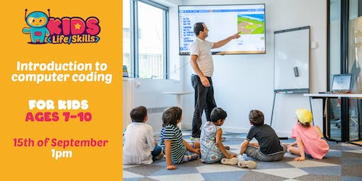 Introduction to computer coding ages 4-6 [English]