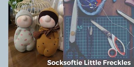 Make a Socksoftie Little Freckles Workshop  tickets